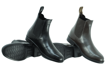 HyLAND Southwold Leather Zip Paddock Boot