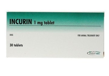 Incurin 1mg Tablets for Dogs