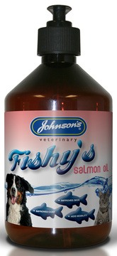 Johnson's Fishy's Salmon Oil for Dogs