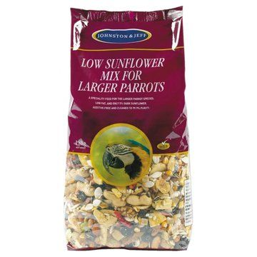 Johnston And Jeff Large Parrot Low Sunflower Mix