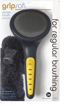JW Gripsoft Pin Brush for Dogs