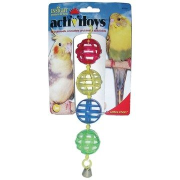 JW Lattice Chain Bird Toy