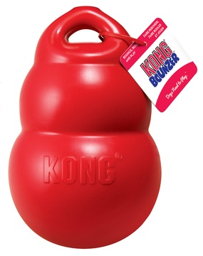 KONG Bounzer Interactive Rubber Dog Toy