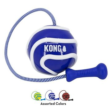 KONG Wavz Bunji Ball for Dogs