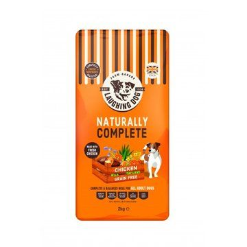 Laughing Dog Naturally Grain Free Complete Adult Dog Food Chicken
