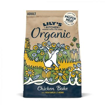 Lily's Kitchen Organic Chicken & Vegetable Bake Dog Food