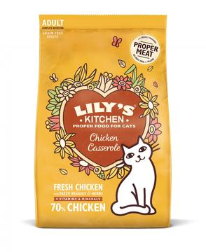 Lily's Kitchen Chicken Casserole Dry Cat Food