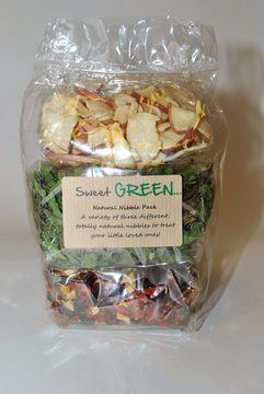 Nature's Own Sweet Green Natural Nibble Pack for Small Animals