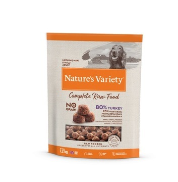 Nature's Variety Complete Turkey Raw Food for Medium/Maxi Dogs