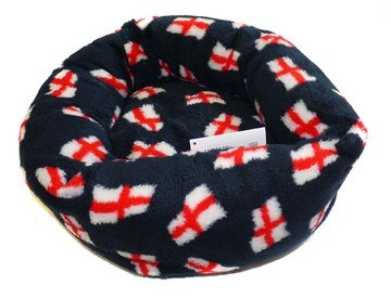 Outhwaites St George Fleece Snuggle Bed