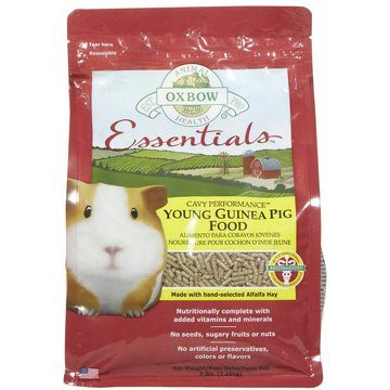 Oxbow Essentials Cavy Performance Young Guinea Pig Food