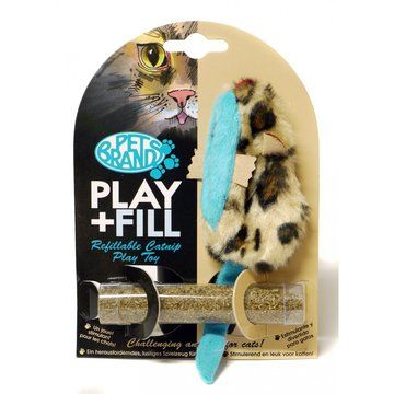 Pet Brands Play & Fill Fur Mice Cat Toy