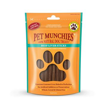 Pet Munchies Natural Dog Treats Beef Liver Sticks