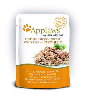 Applaws Natural Pouches in Jelly Cat Food