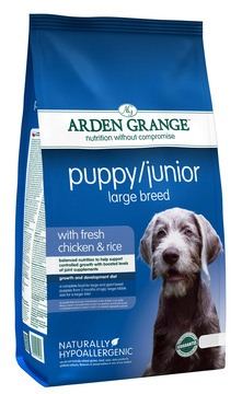 Arden Grange Large Breed With Fresh Chicken & Rice Puppy Food