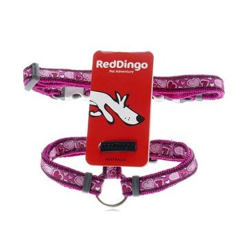 Red Dingo Purple Breezy Love Dog Harness
