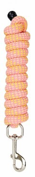 Roma Deluxe Cotton Lead Rope Pink/Orange/Yellow