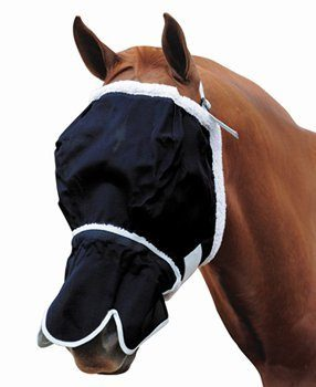 Roma Fly Mask with Fleece and Nose