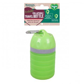 Rosewood Collapsible Travel Bottle