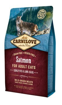 Carnilove Salmon for Adult Cats – Sensitive & Long Hair