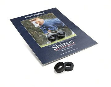 Shires Spare Surcingle Rubber Rings Rubber