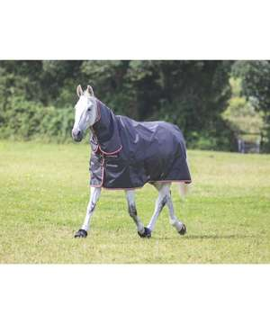 Shires Typhoon 200 Black Combo Turnout Rug