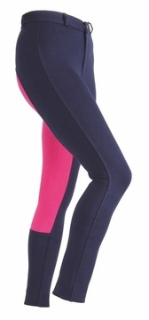 Shires Wessex Maids Navy/Pink Two Tone Jodhpurs