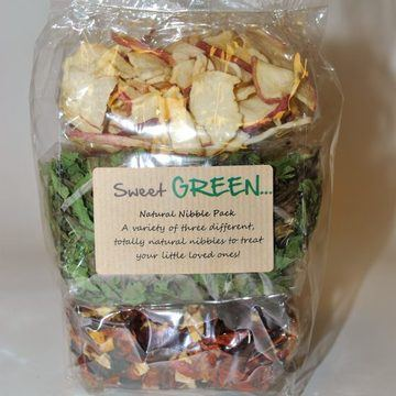 Sweet Green Harvest Veg Nibbles for Small Animals
