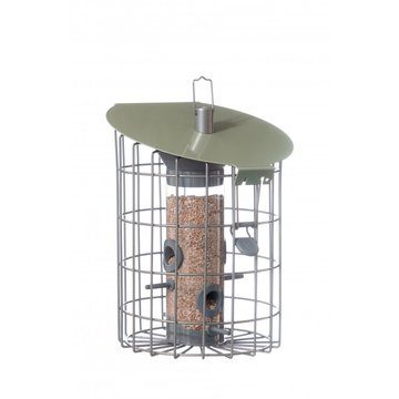 The Nuttery Contemporary Roundhaus Seed Squirrel Proof Wild Bird Feeder