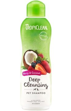 TropiClean Deep Cleansing Berry & Coconut Pet Shampoo