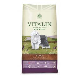Vitalin Natural Grain Free Duck & Potato Adult Dog Food