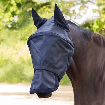 Waldhausen Premium Space Fly Bonnet Mask with Ear Protection