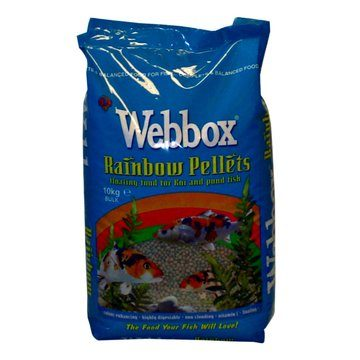 Webbox Rainbow Pellets Floating Pond Fish Food