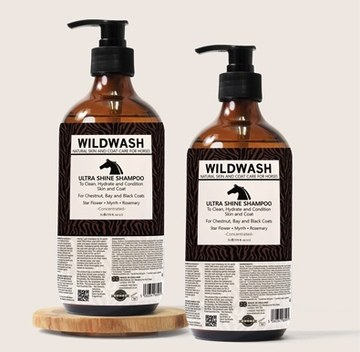 Wild Wash Ultra Shine Horse Shampoo