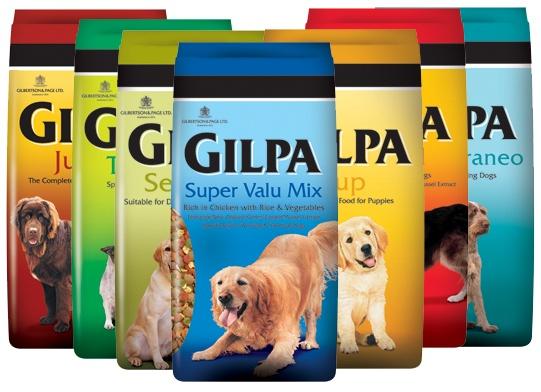 Gilpa Dry Food Range