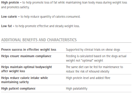 Purina Veterinary Diets OM Formula Key Benefits