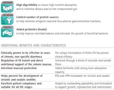 Purina Veterinary Diets EN Formula Key Benefits
