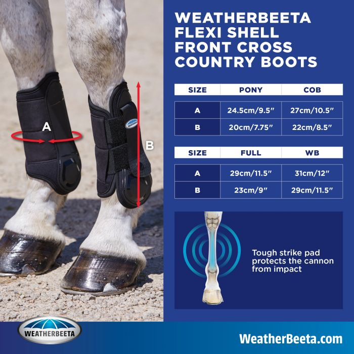 WeatherBeeta Flexi Shell Front Cross Country Boots