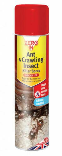 Stv Zero In Ant Crawling Insect Killer Spray Viovet Co Uk
