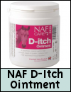 NAF D-itch Ointment for Horses
