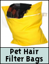 Pet Hair Washing Machine Filter Bags