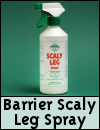 Barrier Scaly Leg Spray for Poultry