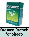 Wormers Oramec Drench For Sheep