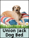 Union Jack Dog Bed