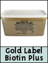 Gold Label Biotin Plus for Horses