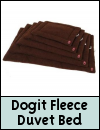Dog It » Fleece Duvet Bed