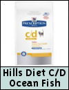 Hills Prescription Diet C/D Multicare Ocean Fish Cat Food