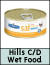 Hills Prescription Cat Food » C/D Multicare Wet Food
