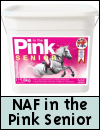 NAF In the Pink Senior for Horses