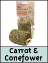 Boredom Breaker Treats » Carrot and Coneflower Roller